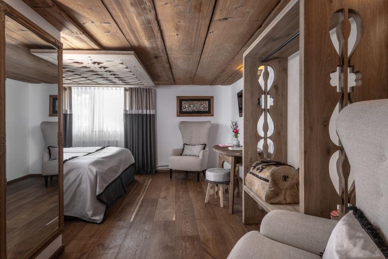 Hotel im Appenzell - Boutique Hotel Bären Gonten, Doppelzimmer originell